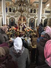 25/11/2020 - Престольный праздник в аг. Остромечево