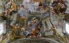 Pozzo, Glorification of Saint Ignatius, Sant'Ignazio