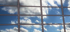 Photo of Central Milton Keynes Reflections (After Magritte)