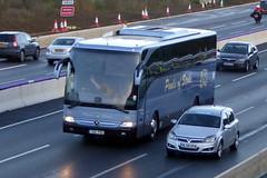 Photo of 2016 Mercedes-Benz Tourismo - Y66 POS - Pauls Coaches - M1 at Milton Keynes 31Oct20