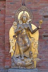 La déesse Ganga (Patan, Népal)