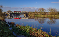 Photo of 60001 At Sawley Lock. 26/11/2020.