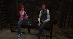 Hanging out in Rosehaven