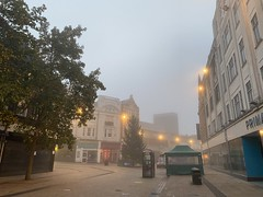 Photo of early morning Bromley fog