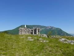 Ruins of Château de Léaz @ Rocher de Léaz