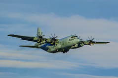 Photo of US Navy Lockheed C130 Hercules Prestwick