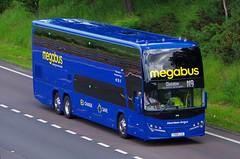 Photo of VOLVO B11RE Plaxton Panorama - megabus Stagecoach Cumbernauld