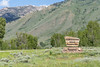 Ketchum, Idaho - July 1, 2019: Sign for the Sawtooth National Recreation Area located in the Sawtooth National Forest on a summer day. Biking and hiking are popular activities