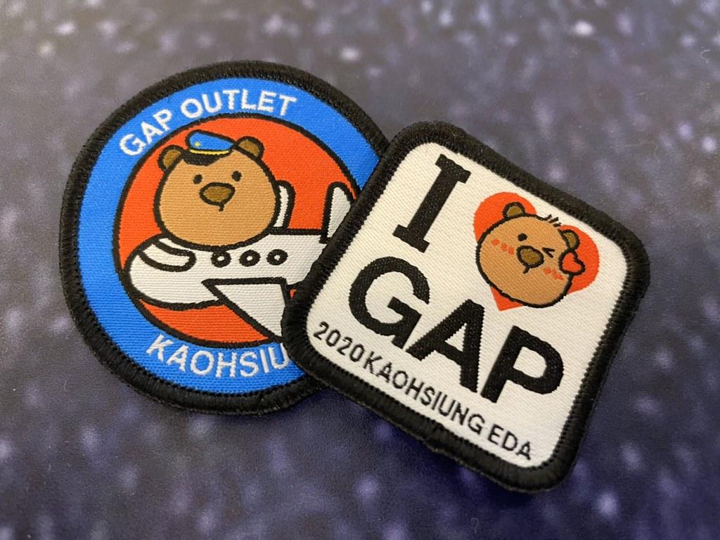 開幕獨家優惠大公開,將Gap義大OUTLET專屬紀念品帶回家