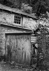 Photo of An old garage, Lochwinnoch, Renfrewshire, Scotland, UK