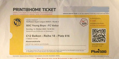 "BSC Young Boys - FC Vaduz • <a style=""font-size:0.8em;"" href=""http://www.flickr.com/photos/79906204@N00/50657027187/"" target=""_blank"">View on Flickr</a>"