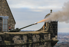 Photo of The One O'Clock Gun - Edinburgh Castle