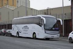 Photo of KT's Coaches, Crooklands, Kendal, Cumbria, FJ13EBL - Volvo B9R - Caetano Levante