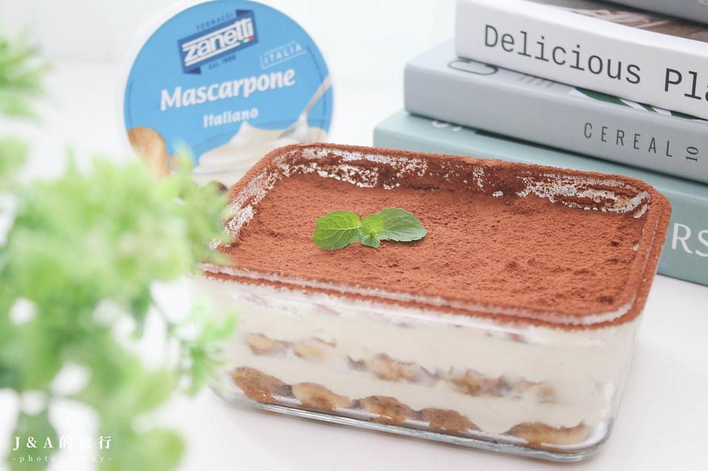 【食譜】提拉米蘇 (無生蛋)Tiramisù。不用烤箱的零失敗經典義式甜點 @J&A的旅行
