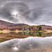 Lake Calamone - Ventasso, Reggio Emilia, Italy - November 1, 2020
