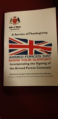 Armed Forces Covenant - Isle of Man - International - Vegas™