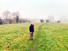 Photo of Me on a footpath near Windrush village