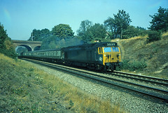 Photo of 21Aug76. Southcote Jct. EE Class 50 50039 (Ex D439). [Slide_C075]