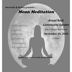 #repost @mermaidsandmuffinsrva ・・・ Come join us tomorrow at 530 at @broadrock_communitygarden ✨