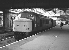 Photo of F530 45037  Crewe July 1987S Widdowson   938 (2)x
