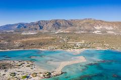 Elafonisi beach on Crete, Greece