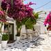 Streets in Mykonos, Greece