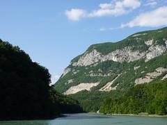 Rhône @ Aire de pique-nique du Moulin @ Clarafond-Arcine
