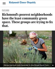 Link in the bio, want to learn how you can support DM us ! . . #foodgrowshere#communitygarden#rvacommunitygardens#southofthejames#southsiderva#broadrockcommunitygarden#communitygrowshere