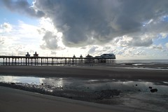 Photo of Clouds over the pier at Blackpool