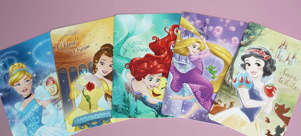 圖7.迪士尼公主系列發光票卡貼_售價199元 (1)