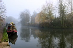 Photo of Misty Grand Union Canal