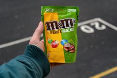 M&M's Peanut & Hazelnut, Limited Edition, 128 gr