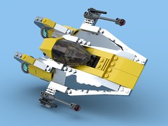 Naboo N-4 Starfighter (License-Built A-Wing)