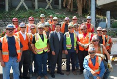 2016 Rose Bowl Stadium Construction Crew