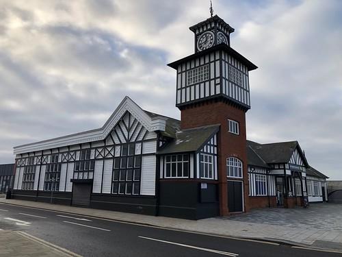 The original Portrush railway station
