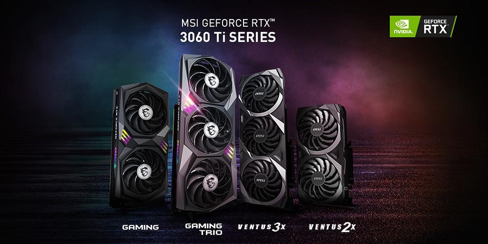 MSI-RTX3060Ti-series