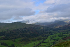 Photo of 20LAK158 Cloud over Red Screes and Caudale Moor, from the Garburn Road