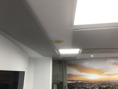 Sound absorbant ceiling Panels