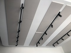 Reduced Noise Acoustic Ceiling Panels