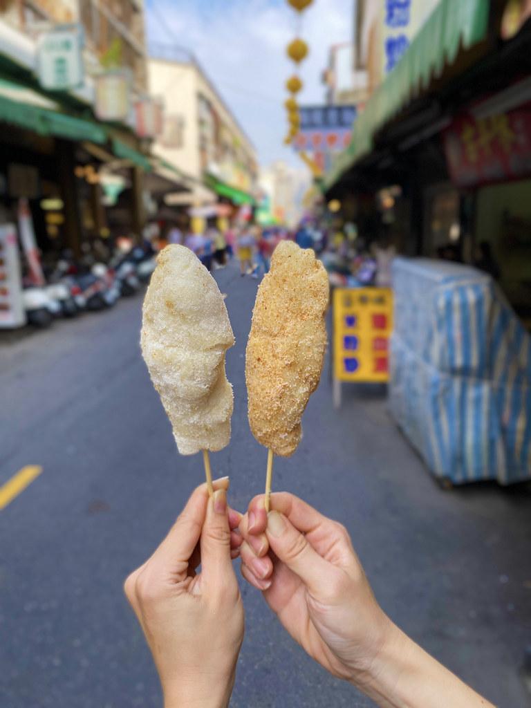 台南彩虹白糖粿