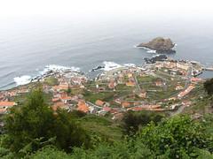 over looking Porto Moniz