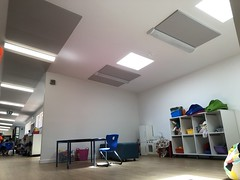 Noise Reduction Acoustic Ceiling Panels