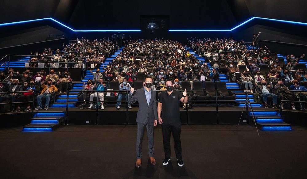 新光影城董事長吳昕昌攜手杜比實驗室促成全台首座杜比影院開幕