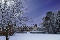 Photo of Ufton Court in snow