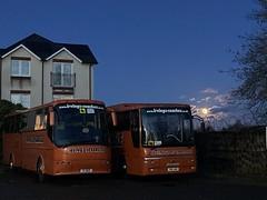 Photo of Irving�s of Carlisle - V11 BUS VDL Bova Futura Classic and YN11 AWU Volvo B7R Plaxton Profile