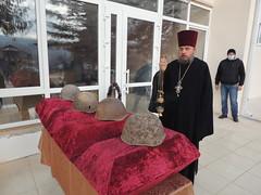 Захоронение останков неизвестных солдат
