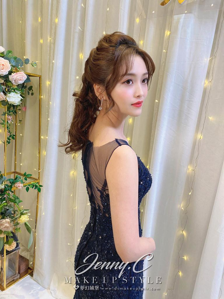 【新秘蓁妮】bride 怡臻 結婚造型 / 韓系小公主,優雅造型