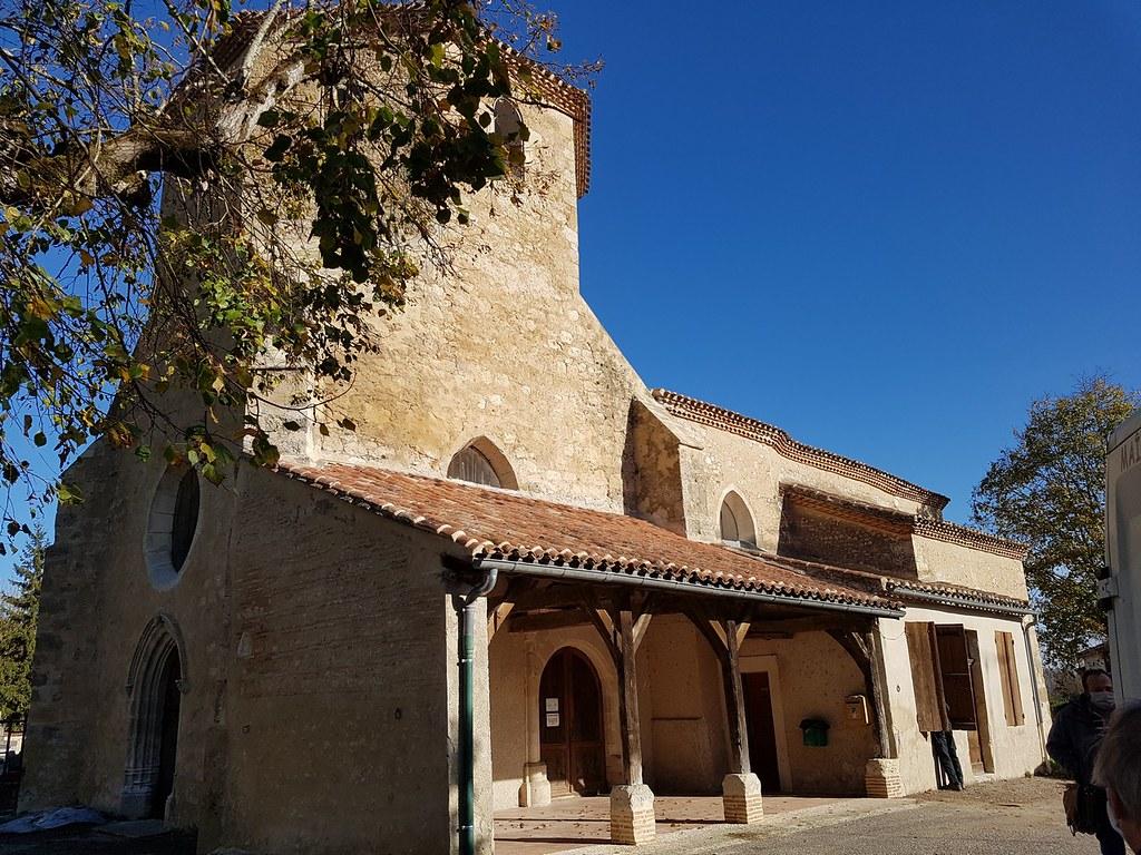 Les travaux de rénovation de l'Eglise de Saint-Hilaire de Lusignan sont achevés.