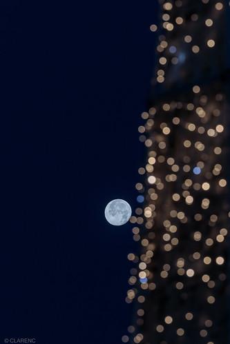 moon or bokeh?