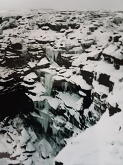 Photo of Kinder Downfall 14/02/1996 a
